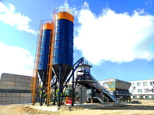 nieuw FABO FABOMIX COMPACT-120 CONCRETE PLANT   CONVEYOR TYPE betoncentrale