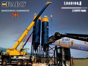 nieuw FABO MIX COMPACT-110 CONCRETE PLANT | CONVEYOR TYPE betoncentrale