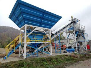 nieuw PROMAX محطة خلط الخرسانة المدمجة C60-SNG-PLUS (60 م 3 / ساعة) betoncentrale
