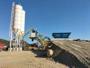 nieuw PROMAX Mobile Concrete Batching Plant M60-SNG (60m³/ hour) betoncentrale