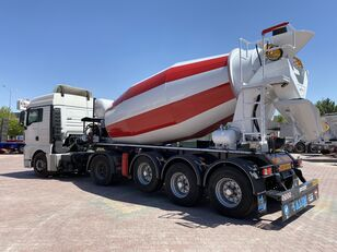 nieuw ALIM mixer semi trailer concrete mixer semi-trailer betonmixer oplegger