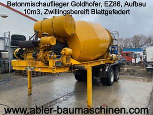 GOLDHOFER betonmixer oplegger
