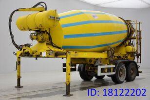 MULLER-MITTELTAL Muller Mitteltal 12M³ Mixer betonmixer oplegger