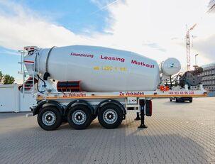 SCHWARZMÜLLER TTC-Fulda Betonmischer Auflieger mit Motor  NEU betonmixer oplegger