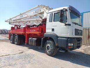 KLEINE 2008 MODEL 33.360 MAN TRUCKS 37 METER KLEİN CONCRETE PUMP  betonpomp