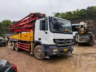 Sany SY5295THB op chassis MERCEDES-BENZ SY5271THB betonpomp