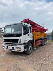 SANY 2011 renovated 37m on ISUZU 6*4 truck betonpomp voor onderdelen