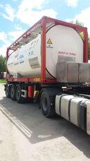 VAN HOOL ОРЕНДА / Охолодження -10 / Підігрів + 80  20ft tankcontainer